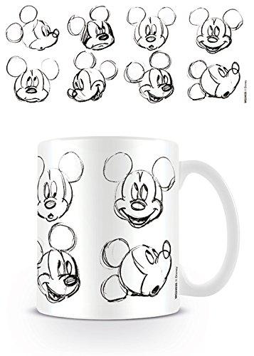 Disney Kaffeetassen, Keramik, Mehrfarbig, 7.9 x 11 x 9.3 cm