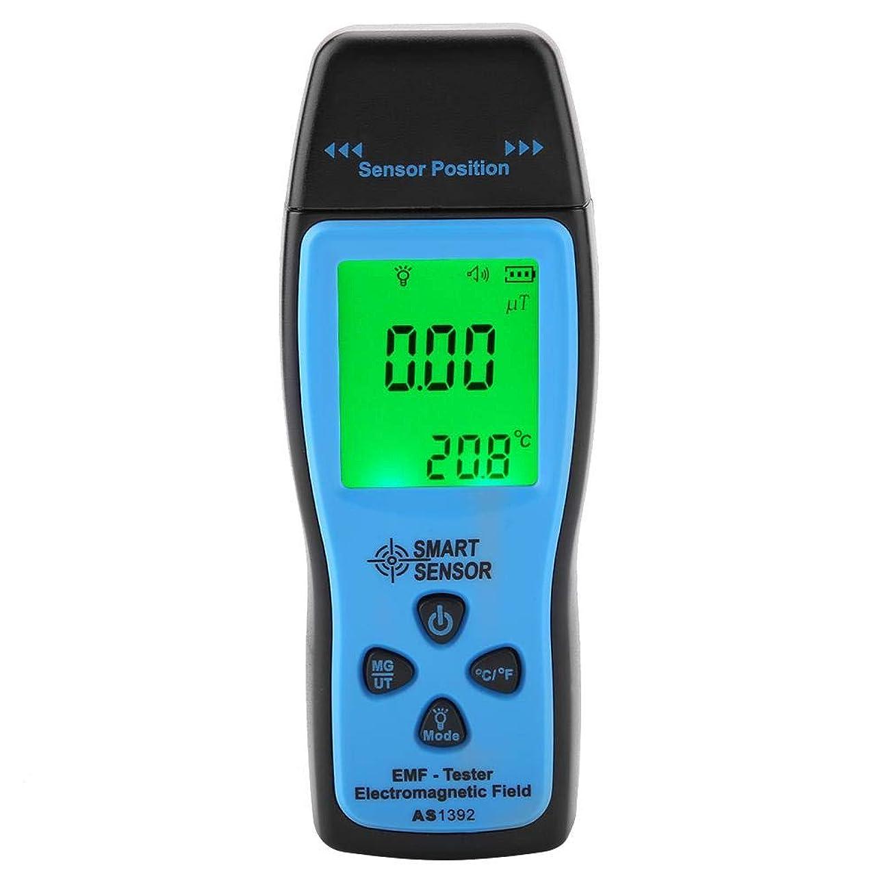正直表向きタイピストデジタル電磁波テスター 電磁検出器 電磁放射線測定器 電磁波計 電磁波測定器 EMF検出器 線量計 警報機能付き