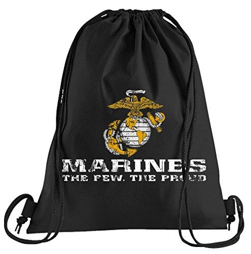 T-Shirt People US Marine Corps USMC Sportbeutel – bedruckter Beutel – eine schöne Sport-Tasche Beutel mit Kordeln