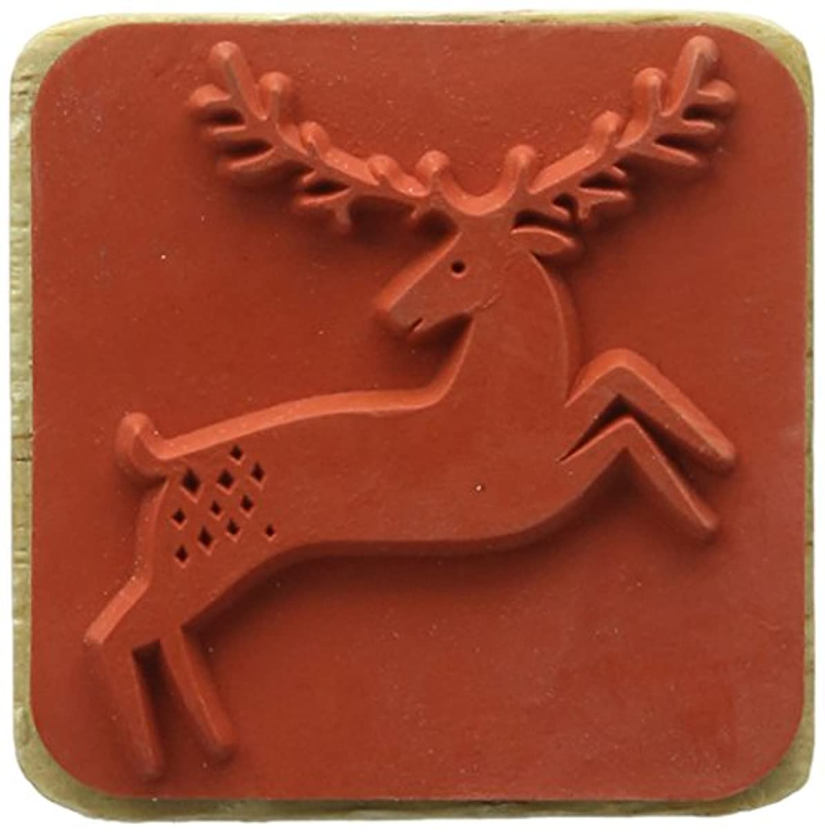 Rico Design Stamp Deer, Wood Nature, 4 x 4 x 9 cm gd10972628347