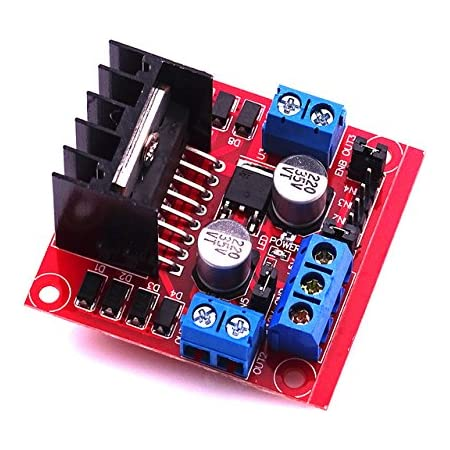 Robotbanao RB-35165 L298 Motor Driver Module Dual H-Bridge Dc Stepper for Arduino