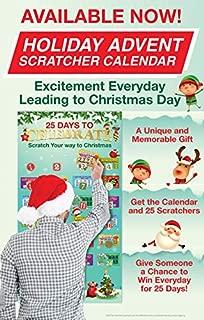 Christmas Luck Holiday Advent Lottery Calendar