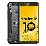 Móvil Resistente (2020), Blackview BV5500 Plus Telefono Móvil,Android 10.0, IP68 a Prueba de Golpes e Impermeable, Pantalla de 5.5 Pulgadas, Tarjeta SIM Dual de 3GB+32GB, GPS, NFC,Batería de 4400 mAh