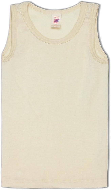 Engel a forma di angioletto lana Seta Bambini ascella camicia