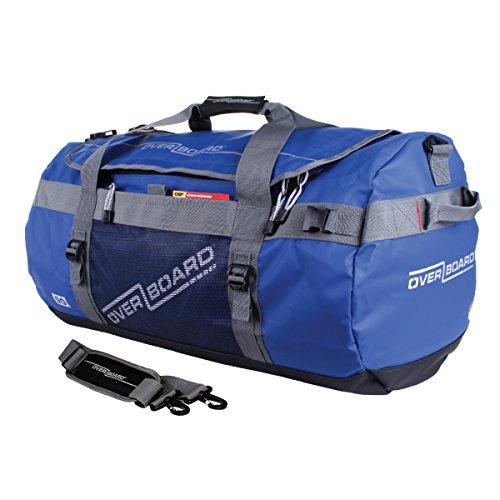 Overboard Wasserdichte Sport Reisetasche Adv, Blau, 90 Liter, OB1059B