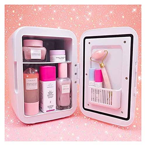 Xx101 Imanes de Nevera Pegatinas Refrigerador cosmético refrigerador Mini Nevera 4 litros Skincare Nevera Maquillaje Nevera (Color : Lavender)
