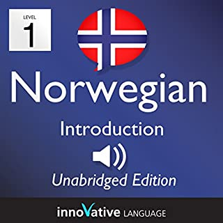 Learn Norwegian: Level 1 Introduction to Norwegian, Volume 1: Lessons 1-25                   By:                                                                                                                                 InnovativeLanguage.com                               Narrated by:                                                                                                                                 Innovative Language Learning                      Length: 3 hrs and 27 mins     4 ratings     Overall 4.0