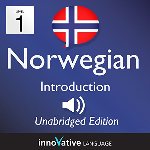 Learn Norwegian: Level 1 Introduction to Norwegian, Volume 1: Lessons 1-25 audiobook cover art