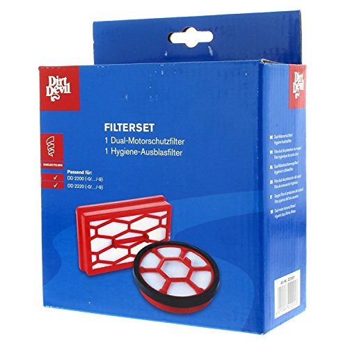 Dirt Devil 2220001 Filter, 2 teilig