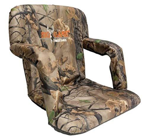 BIG GAME Bucket Chair Muddy Deluxe Stadium-Silla de Cubo, Unisex Adulto, Camo épico, Talla única