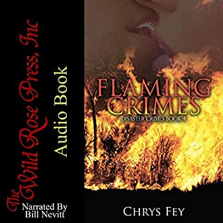 Flaming Crimes audiobook cover art