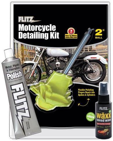 Flitz CY 61501 Motorcycle Mail order cheap Kit Detailing shipfree Small