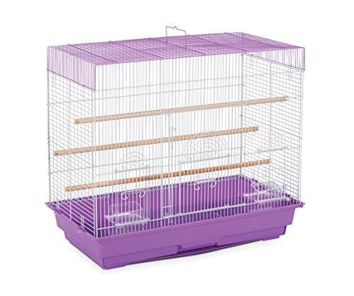 Price comparison product image Prevue Pet Products SP1804-3 Flight Cage,  Lilac / White