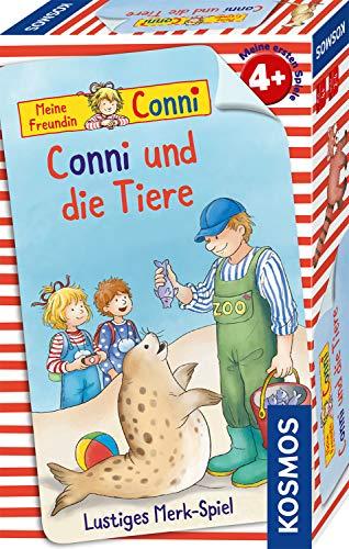KOSMOS 710989 - Conni und die Tiere, Mitbringspiel