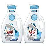 Skip Ultimate Active Clean - Detergente líquido concentrado de 2 litros, 57 lavados - Lote de 2 unidades