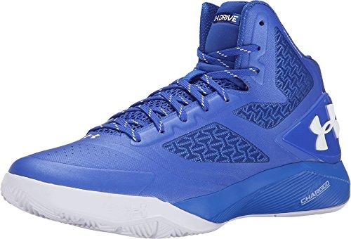 Under Armour UA ClutchFit Drive 2 - Zapatillas de baloncesto para hombre., (Azul / blanco), 8 D(M) US