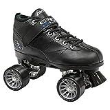 Pacer GTX-500 Roller Skates - Newly Revised Model (Black, Mens 10/Ladies 11)