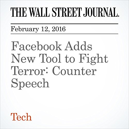 Facebook Adds New Tool to Fight Terror: Counter Speech cover art