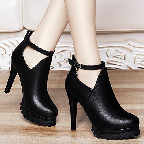 Jqdyl Talons hauts Femme Chaussures Printemps Chaussures à talons hauts à talons hauts à talons hauts avec des chaussures grossières