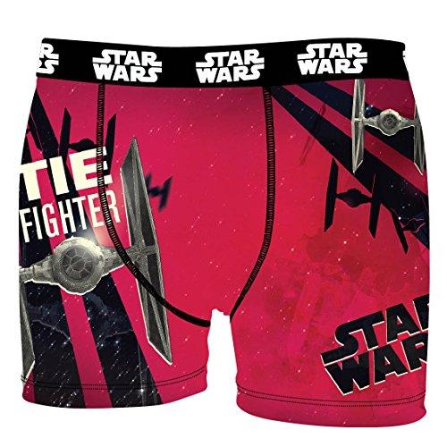 Disney Star Wars Herren Boxershort, Mega-Designs, Druide, T-Fighter (S/4/46, T-Fighter)