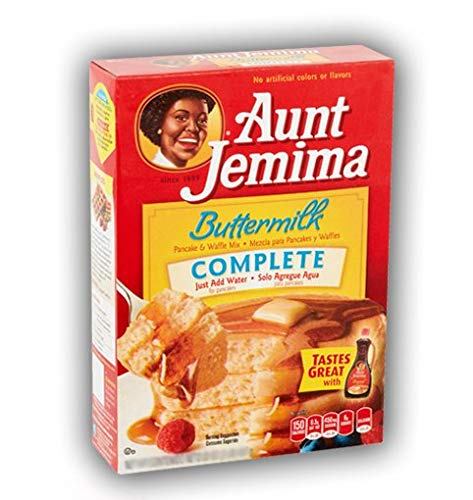 Aunt Jemima Buttermilk Complete Pancake and Waffle Mix 1LB (453g) …