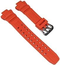 Casio watchband Resin orange GW-3000M-4AER GW-3000, GW-2500, G-1000, G-1010, G-1100, GW-3500 G-1250 G-1200 G-1500, G-2000