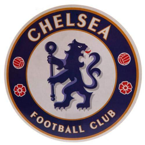 Chelsea F.C. Large Crest Sticker Prodotto con Licenza Ufficiale