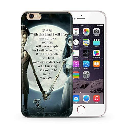 TMEZYOZKE Funda iPhone 6/6S,Xarpsv Yrrwv Trn Yertan Tva Ev Pazstrx Design Anti-Scratch Transparent TPU Cover Case