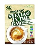 Organic Stevia In The Raw, 40 Count (6 Count)