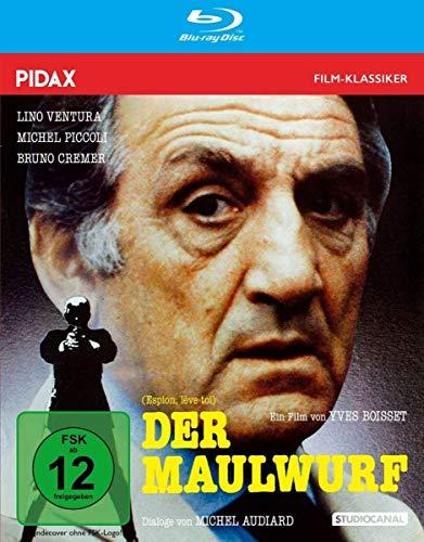Der Maulwurf (Espion, lève-toi) / Spannender Kultthriller mit Starbesetzung und grandiosem Soundtrack von Ennio Morricone (Pidax Film-Klassiker) [Blu-ray]