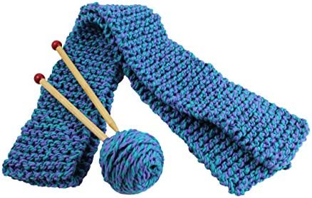 Harrisville Designs Quick to Knit Scarf Knitting Kit Weaving for Beginners for Kids and Adults product image