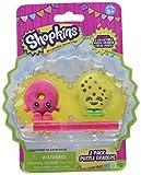 Shopkins 2 Collectible Puzzle Erasers & Color Pencil