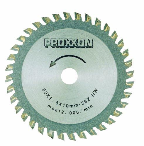 Proxxon Kreissägeblatt, HM-bestückt, 80 mm, 36 Z, 28732