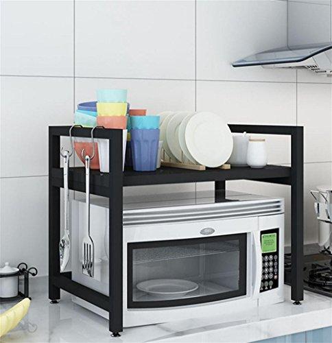 SQL Cuisine micro-ondes étagère 2 couches four vaisselle de cuisine , C