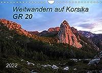 Weitwandern auf Korsika GR 20 (Wandkalender 2022 DIN A4 quer): GR 20 - Ein Weitwanderweg der Extraklasse, anspruchsvoll, unbeschreiblich schoen und unvergesslich! (Monatskalender, 14 Seiten )