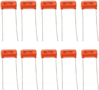 10 Pieces 0.022uf 600v 223J Orange Drop Capacitor fit for Electric Guitars Bass Tone Caps Electric Guitar Parts