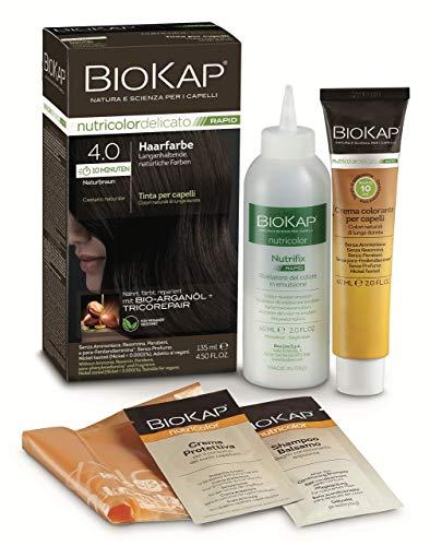 BIOKAP 10 min. Haarfarbe 4.0 Naturbraun, 135 milliliter