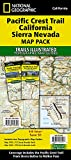 Pacific Crest Trail: California Sierra Nevada [Map Pack Bundle] (National Geographic Trails Illustrated Map)