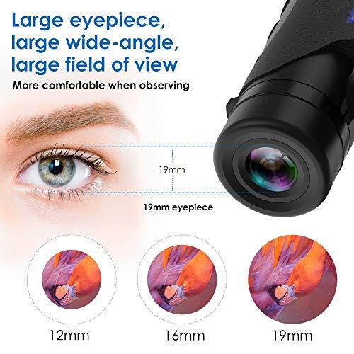 CMY Binoculars High Power, 12x40 Binocular for Adults W BAK4 Prism, FMC Lens, Fogproof & Waterproof Great for Bird Watching Travel Stargazing Hunting Concerts