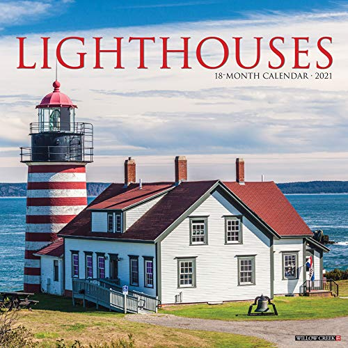 Lighthouses 2021 Wall Calendar