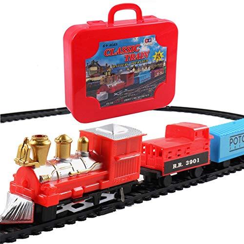 Yunt-11 Juego de trenes de tren de ferrocarril, juego de ferrocarriles, juguetes...