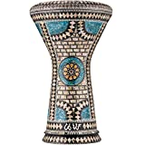 The Sapphire Orchid Darbuka by Gawharet El Fan (World Percussion) - Arabic Darbuka Drum/Do...