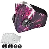 Máscara Antipolución Máscaras de Carbono Activado Oreja Colgante N99 Adecuado con 5 Filtros para...