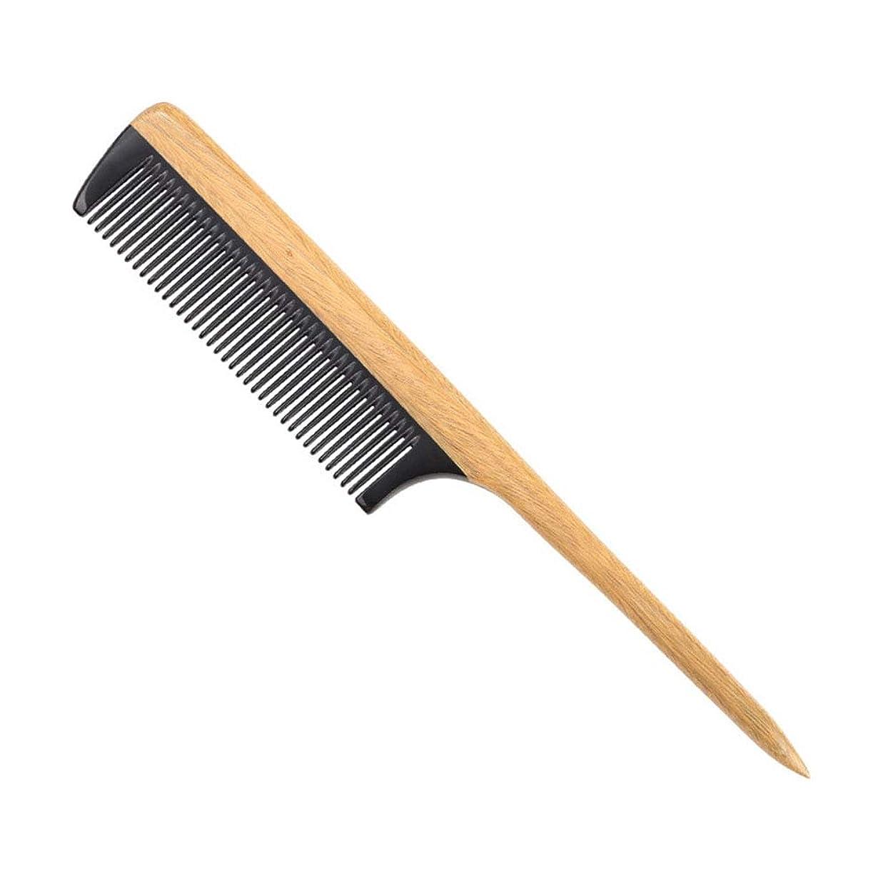 火曜日気候の山日没ヘアーコーム ニードルテールの櫛帯電防止耐熱美容師の特別な尖った櫛 理髪の櫛