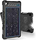 Best Solar Chargers - Solar Charger, BEARTWO 10000mAh Solar Phone Charger, Ultra-Compact Review