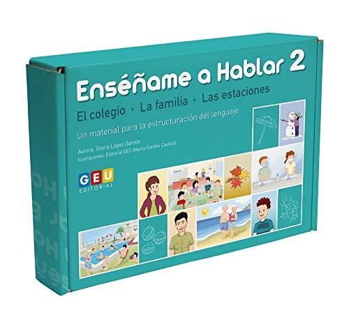 Enséñame A Hablar 2: Estructuración del Lenguaje Vocabulario El Colegio (Niños de 3 a 5 años Educación Infantil y Educación Especial)