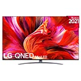 LG QNED 75QNED966PA 2021 - Smart TV 8K UHD 189 cm (75') con Inteligencia Artificial, Procesador Inteligente α9 Gen4, Deep Learning, 100% HDR, Dolby ATMOS, HDMI 2.1, USB 2.0, Bluetooth 5.0, WiFi