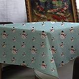 XXDD Mantel de celosía geométrica Mantel de impresión navideña Mantel de pañal decoración del hogar Cubierta de la Chimenea Mantel Cubierta de Tela A5 135x200cm