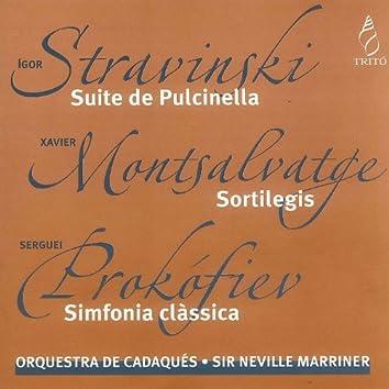 Stravinski, Montsalvatge, Prokofiev