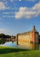 Eindrucksvolle Burgen, malerische Schloesser im Muensterland (Wandkalender 2022 DIN A2 hoch): Burgen und Schloesser im Muensterland (Monatskalender, 14 Seiten )